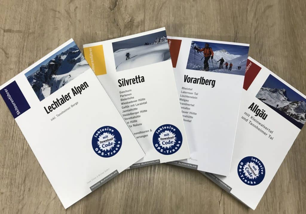 Neu im Sortiment: Panico Skitourenführer